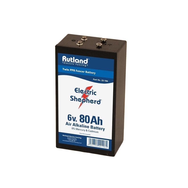 Rutland 22-106R Batterie Twin PP8-6 V 80 Ah